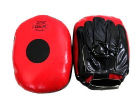 Last Punch good Quality Streight Coaching Gloves for Punching Boxing Kicking