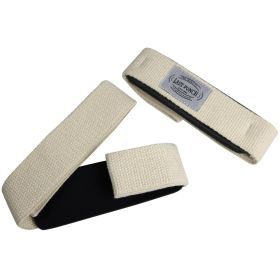Last Punch White Weight Heavy Lifting Assist Wraps Pad Cushion Wrist Support