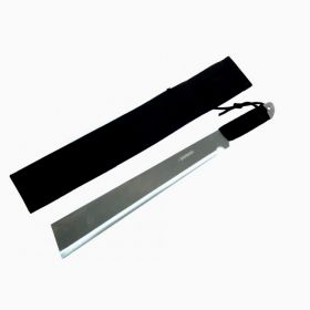 """20"""" Machete Full Tang with Black Sheath And Strap"""