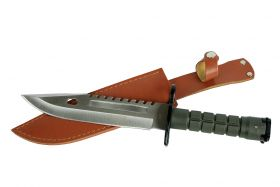 """12.75"""" Defender Xtreme Stainless Steel M9 Bayonet Knife with Sheath"""