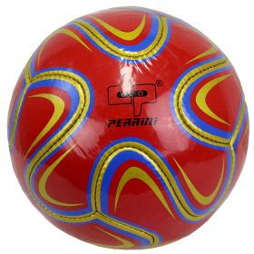 Perrini Match Ball Soccer Maroon Gold & Blue Football Training Official Size 5