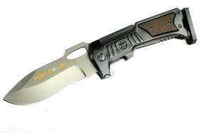 """10.5"""" Hunt-Down Folding Knife with Stainless Steel Blade"""