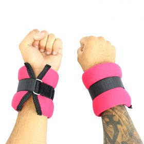 5LBS Perrini Red Extended Fit Wrists/Ankle Weights