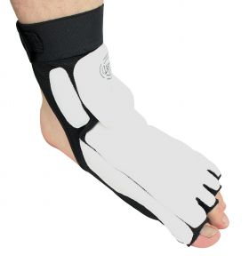 Last PunchTaekwondo Foot Ankle Support Protector Fighting Foot Guard Kick Boxing Foot Wear