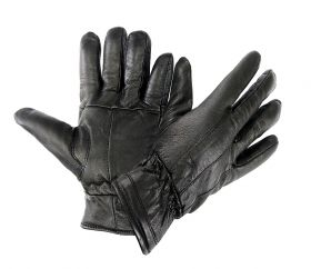 Leather Cold Weather Winter Gloves Cowhide Leather