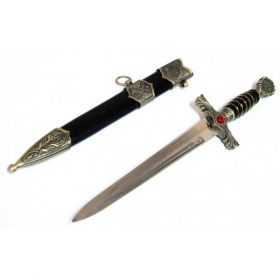 """15.5"""" Roman Collectible Style Dagger with Sheath"""