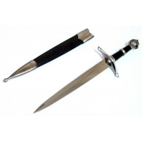 """15.5"""" Collectible Style Stainless Steel Dagger with Sheath"""