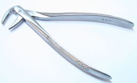 1pc Dental Instrument 74N Extracting Forceps Stainless Steel